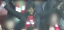 Image released of man after bottle thrown at Arsenal v Tottenham match