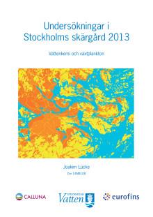 Skärgårdsrapport 2013
