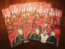 HEATWAVE MAGAZINE: Issue #6 Live Launch Parties - London and Amsterdam: THE CAVEMEN,  Bad Sports,  Bad Nerves and Radioactivity |  Shacklewell Arms & Pacific Parc