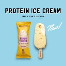 Barebells populära proteinglass i ny sommarsmak