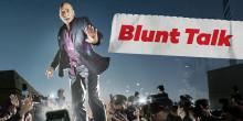 Nya amerikanska sitcom-serien Blunt Talk exklusivt till Viaplay