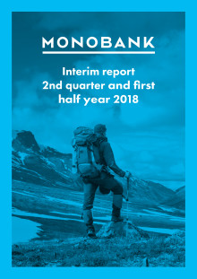 Monobank ASA Q2 2018 Report