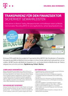 Deutsche Telekom Mobile Communication Recording