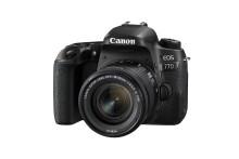 Kvalitet i fokus med Canons nye speilreflekser og objektiv:  EOS 77D og EOS 800D