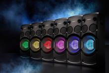 Power für jede Party: das neue Audio-System MHC-V50D von Sony