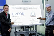 Press Release: Epson Malaysia Nurtures Young Football Talent  With Sponsorship of Tunas Lagenda Football Club