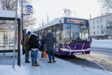 Skellefteå kommuns nya kollektivtrafiksystem fokuserar på arbetspendlare