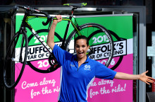 Join Laura Wright on the Women's Tour this summer for SportsAid