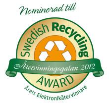 UMEVA nominerade till Årets Elektronikåtervinnare!