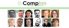 "Speakers at todays ""CompInn - Competence for innovation"" event during #gbgtechweek"