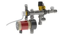 Thermotechs shunt TMix XS - gör det billigare än någonsin att få varma badrumsgolv året runt med vattenburen golvvärme