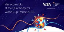 Kontaktloses Bezahlen mit Visa punktet bei der  FIFA Frauen-Weltmeisterschaft Frankreich 2019™