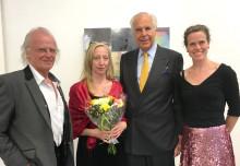 2017 års Aguéli-stipendium till Erika Dahlén
