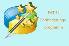 Das beste, zuverlässigste FAT 32-Formatierungsprogramm (für Windows)