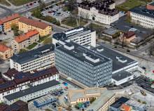 Nya Södertälje sjukhus på delad andraplats i Årets Miljöbyggnad 2017