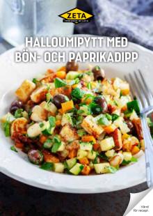 Receptblad halloumipytt