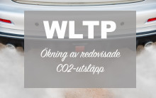 Övergång till WLTP ger kraftig ökning av redovisade CO2-utsläpp