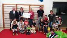 """Hilfsfonds der E.ON-Mitarbeiterinnen und -Mitarbeiter unterstützt """"Fortschritt Rosenheim"""""""