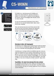 Planex CS-W06N nätverkskamera med wifi