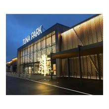 Tuna Park inviger 8500kvm ny retail yta med en gigantisk trästruktur!