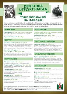 Program Stora utflyktsdagen 4 juni