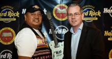 Indianer tar över Hard Rock Café
