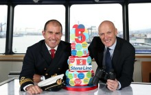 Stena Line celebrates five successful years on  Belfast to Cairnryan