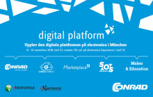 Conrad Electronic presenterar sig som digital plattform i 4.0-eran