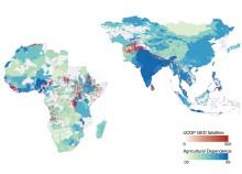 Skydd till jordbruksberoende samhällen mot klimatkatastrofer kan dämpa risken för våldsamma konflikter