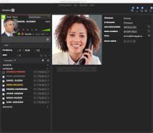 Uppdaterat gränssnitt för Communicator/Softphone