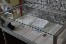 Display of First World War soldiers' letters at Radcliffe Library
