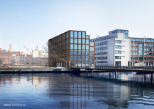 Erséus Arkitekter ritar nytt kontorshus på Lundbystrandskajen i Göteborg