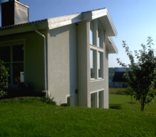 Komplett lösning för framtidens fuktsäkra, putsade fasader