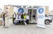 Invigning av Läkare i Världen Uppsala