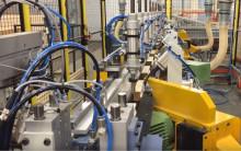 Tillverkning av kistfötter i helautomatisk maskin
