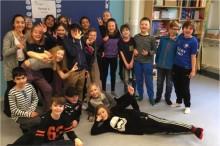 Elever på Vittra Kungshagen till Schackfyrans riksfinal