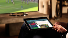 ¡Únase a la acción! Vea los momentos más destacados de la FIFA World Cup™ 2014 en un televisor Sony 4K, en su tienda más cercana