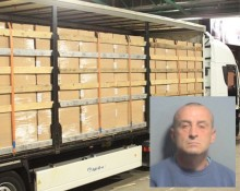 Air filter cigarette smuggler jailed