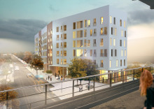 Startskott för Fokus Skärholmen med 78 nya hyresrätter i Bredäng centrum