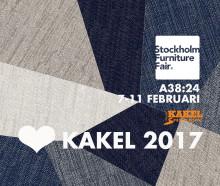 Kakelspecialisten presenterar årets kakelnyheter på Stockholm Furniture Fair