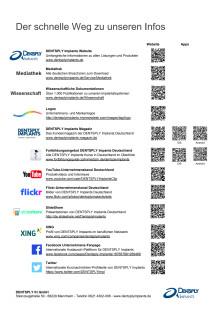 Service-Angebote DENTSPLY Implants Deutschland