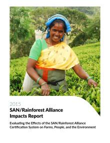 SAN/Rainforest Alliance Impacts Report