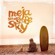 """Less is more, är ett uttryck som passar väl in på Mejas nya album - """"Stroboscope Sky"""" som lanseras den 13 maj."""