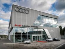 Invigning av Audi i Smista Allé