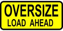 Big load warning for motorists