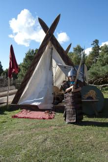 Vikingatida höstmarknad på Gunnes gård