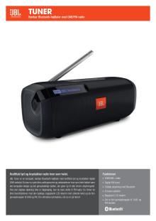 JBL Tuner Spec Sheet