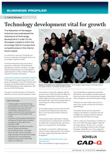 Technology development vital for growth