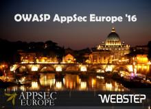 Appsec EU 2016 – security in the wild!