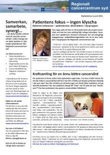 Nyhetsbrev 3 - Patientens fokus - ingen klyscha